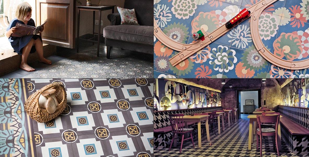 VIA Platten – Wunderschöne Zementmosaik- und Terrazzoplatten